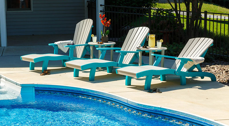 poly pool loungers nashville
