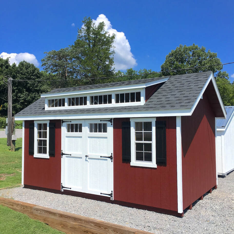In Stock Storage Sheds and Garages - Smucker Farms - Nashville, TN