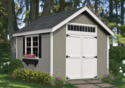 Classic A Frame Storage Shed